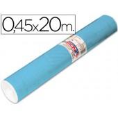 Rolo auto-adesivo aironfix. c or azul mate claro