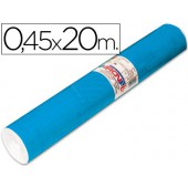 Rolo auto-adesivo aironfix. c or azul mate medio