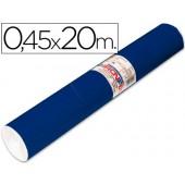 Rolo auto-adesivo aironfix. c or azul mate escuro