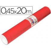 Rolo auto-adesivo aironfix. c or vermelho mate claro