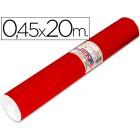 Rolo auto-adesivo aironfix. c or vermelho brilho