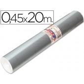 Rolo auto-adesivo aironfix. c or prata especial