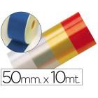 Fita fantasia azul 10mtx50mm
