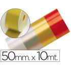 Fita fantasia dourada 10mtx50mm