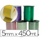 Fita fantasia em bobine dourada 450mtx5mm