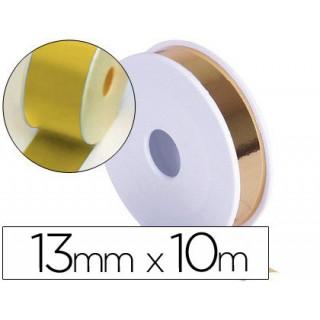 Fita fantasia metalizada dourada 10mtx1.3cm