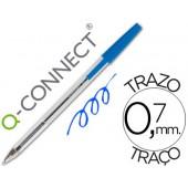 Esferografica cristal q-connect ponta media azul
