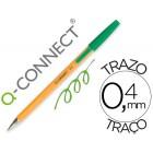 Esferografica laranjaq-connect verde fino