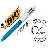 Esferografica bic quatro cores fashion mini