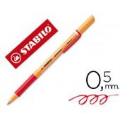 Marcador stabilo roller visco vermelho 0.5 mm