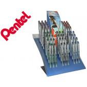 Expositor pentel energel roller bl27 0.7 mm com 5 dz