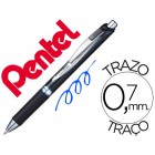 Roller pentel blp77 energel tinta a prova de documento ponta 0.7 mm cor azul