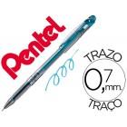 Roller pentel slicci 0.7mm azul claro