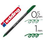 Marcador edding ponta fibra 1200 verde oliva n.15 -ponta redeonda 0.5 m
