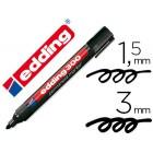 Marcador edding marcador permanente 300 preto ponta redonda 1.5 mm