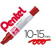 Marcador pentel m180 jumbo permanente vermelho