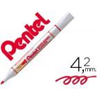 Marcador pentel mw85 quadros brancos 4.2 mm vermelho