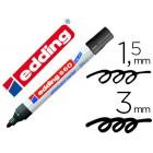 Marcador edding para quadro branco660 cor preto ponta redonda 3 mm recarregavel