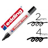 Marcador edding ponta de fibra 750 preto ponta redonda 3.5 mm