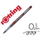 Marcador rotring tikky graphic ponta de fibra 0.3 mm