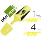 Marcador fluorescente liderpapel amarelo