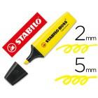 Marcador fluorescente stabilo boss70 amarelo