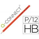 Lapis de grafite q-connect sem borracha n.2 hb