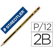 Lapis de grafite staedtler noris n.0 2b