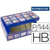 Lapis de grafite staedtler noris n 2 hb class pack de 144 unidades