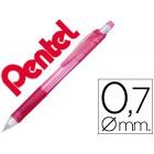 Lapiseira pentel energize x 0.7 mm -rosa