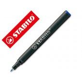 Recarga marcador stabilo easy original azul