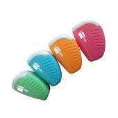 Apara-lapis liderpapel plastico um uso com deposito cores sortidas