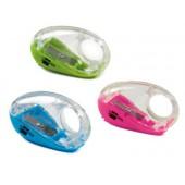 Apara lápis liderpapel turtle plastico um uso com deposito cores sortidas