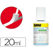 Uhu frasco liquido corrector base aquosa 20 ml