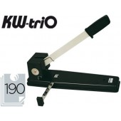 Furador kw-trio. capacidade 190 fls.