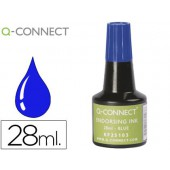 Tinta para almofada q-connect azul frasco de 28 ml