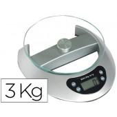 Balanca de escritorio q-connect. electronica. cap. 3 kg.