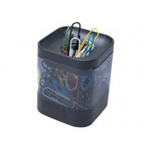 Porta-clips de plastico quadrado
