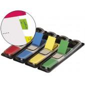 Bandas separadoras de cores. dispensador de 140