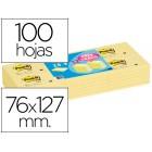 Bloco de notas adesivas post-it 76x127 mm -pack promocional 24+12