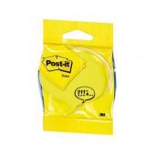 Blister notas adesivas redondas neon. amarelo. cinza