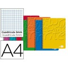Caderno espiral liderpapel write 80 fls a4 quad