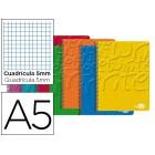 Caderno espiral liderpapel write 80 fls a5 quad