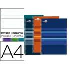 Caderno espiral liderpapel classic a4 160 fls cores sortidas paut