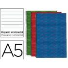 Caderno espiral liderpapel multilider a5 140 f pautado 70 gr microperfurado. cores sortidas