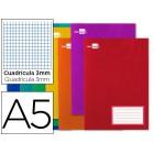 Caderno escolar liderpapel 32f a5 quad 3 mm