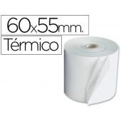 Rolos para maquina calculadora branco termico 60 x 55 x 12