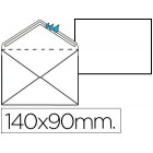 Envelope normalizado s/janela 90x140mm