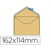 Envelope c6 114x162 mm creme