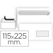 Envelope liderpapel n 4 branco americano janela direita 115x225 mm tira de silicone embalagem de 25 unidades